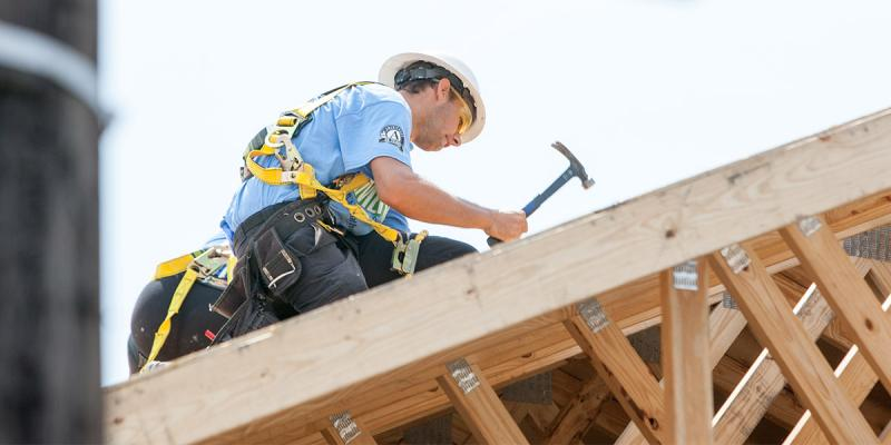 Habitat Americorps Build A Thon 10 Years After Katrina