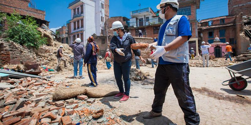 Who Rebuilding After A Natural Disaster