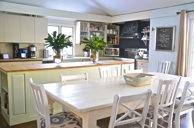 A Dream Kitchen Island Makeover With Help From The Habitat