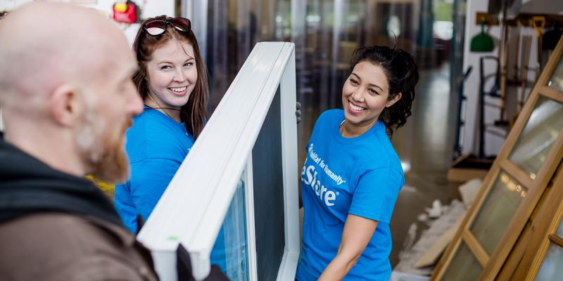 Donate Goods To Habitat For Humanity
