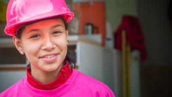 Habitat for Humanity International Women Build volunteer