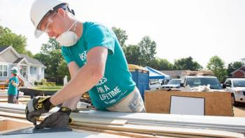 Habitat for Humanity U.S. long-term volunteers