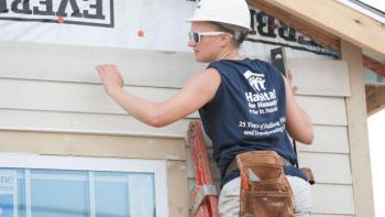 Nicole Stanek, AmeriCorps Build-a-Thon, Habitat for Humanity