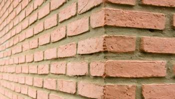 Brick wall, Bolivia