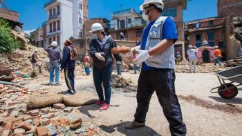 Disaster volunteers rebuild after Nepal earthquake