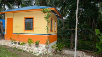Habitat house in the Philippines