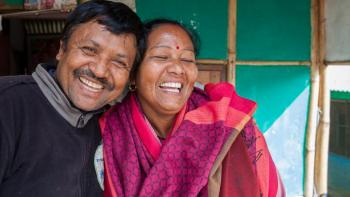 Homeowner couple Nepal