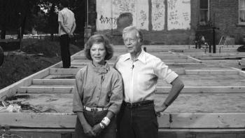 Jimmy and Rosalynn Carter Work Project Habitat for Humanity