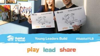 Korean supporters for Haitat Young Leaders Build 2017