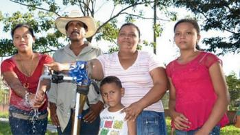 Access to water in Honduras