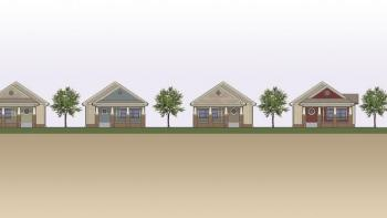 Chattanooga, Tennessee, Habitat for Humanity house plans