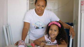Through a small loan, Maria Lucia and her daughter Bia were able to renovate and improve their home, with long-term impact.