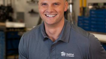 Chip Wade joins Habitat for Humanity's Home is the Key