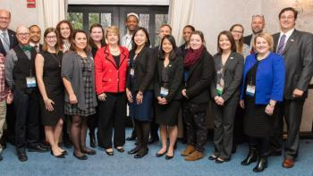 Wendy Spencer, AmeriCorps Alumni at Habitat on the Hill 2016