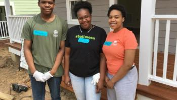 Commitment and persistence lead to Habitat house