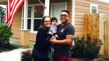 U.S. Marine Corps veteran finds new way to serve, builds home with Habitat