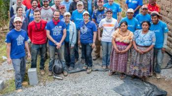 Guatemala trip group photo, Volunteer trip experience, Habitat for Humanity