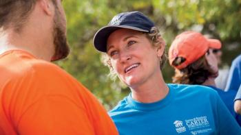 Habitat's Heather Lafferty shares how service brings people together.
