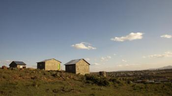 photo: homes in Kenya