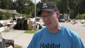 Habitat for Humanity CEO Jonathan Reckford launches hurricane recovery plan in Houston