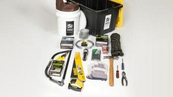 Home repair tools and supplies for hurricane-damaged homes