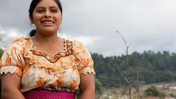 Woman in Guatemala.