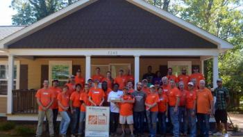 Home Depot group.