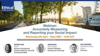 Measuring and Reporting Social Impact
