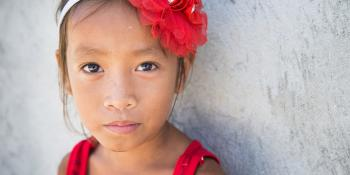 Little girl, Philippines