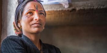Portrait of a woman, India