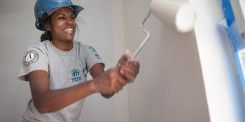 AmeriCorps paint U.S. Build-a-Thon