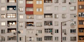 Substandard apartment housing, Bulgaria