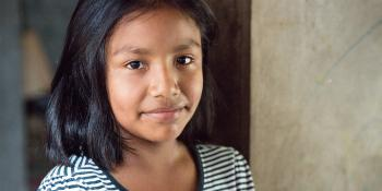 Girl, portrait, El Salvador