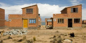 Houses, brick, Bolivia