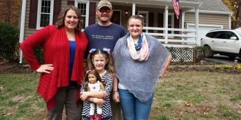 The Thompson family, How does Habitat help veterans thrive?, Habitat for Humanity