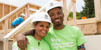 Building strong homes and lasting friendships, Habitat for Humanity