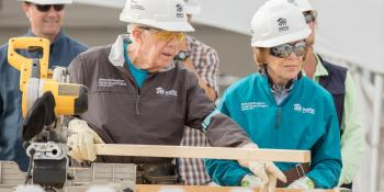 Jimmy and Rosalynn Carter, Carter Work Project, Habitat for Humanity