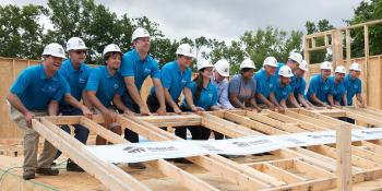 Volunteers Home Builders Blitz