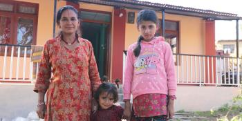 Dilaka rebuilt her house with Habitat Nepal after the 2015 earthquake