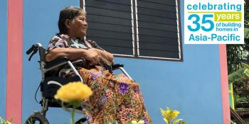 Cha-am is a Habitat homeowner who lives in Pathum Thani province, Thailand.