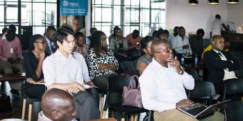 Photo: ShelterTech Accelerator event