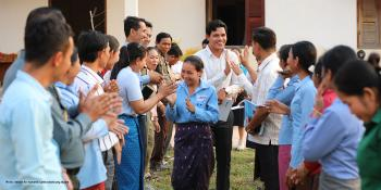 Habitat Young Leaders Build's Leadership Academy training in Siem Reap, Cambodia
