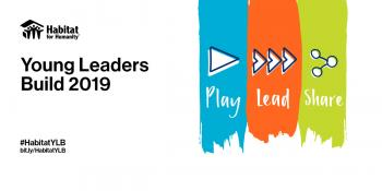 Web banner for Habitat Young Leaders Build 2019