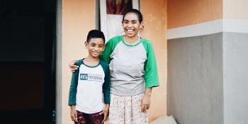 Indonesian mother and son, Project Kick-off