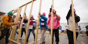 International Women Build Day hero