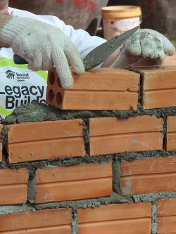 Volunteer at Legacy Build in Cambodia in November 2018