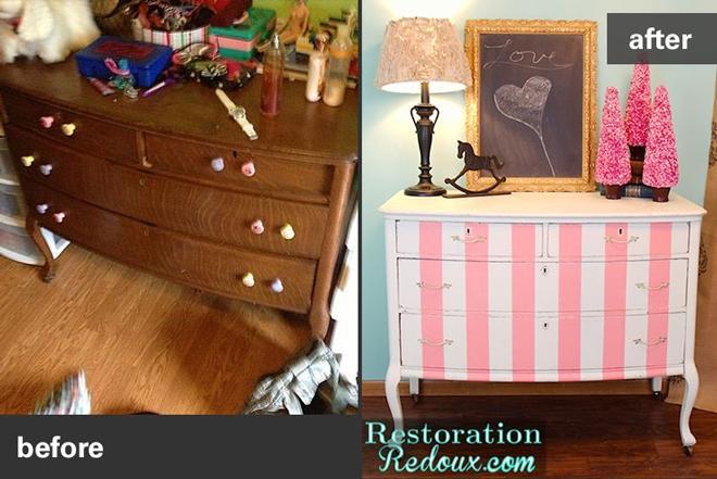 Antique dresser - Restoring Vintage Furniture And Antiques Habitat ReStore