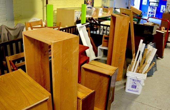 Habitat ReStore DIY workshops inside look