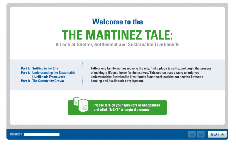 Online course - The Martinez Tale