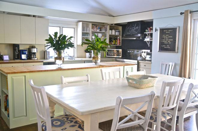 ReStore kitchen island makeover after photo & A dream kitchen island makeover with help from the Habitat ReStore